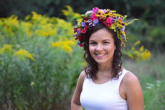 Ozdoby do vlasov - Folklórna parta - 7127525_