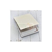 Papier - Trhací blok A6, hnedý - 7127792_