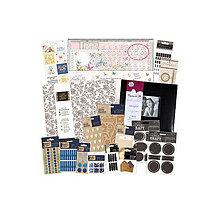 Iný materiál - V zľave z 79€ / Obrovská sada Albumov a rôznych vecí na tvorenie - 7128480_