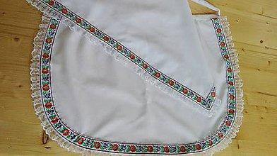 Iné oblečenie - Zásterka FOLK - 7128454_