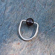 Prstene - Strieborný prsteň - Na stopke01 - 7129826_