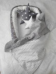 Textil - Hviezdičkový set pre novorodenca - 7129206_