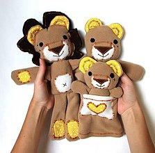 Hračky - Maňuška lev - Rodinka Kráľových z Kvietkovej savany - 7127843_