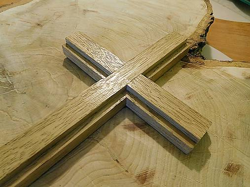 Svadobný drevený kríž dubový   krížik   ViHam - SAShE.sk - Handmade ... e9bc63a5bcd