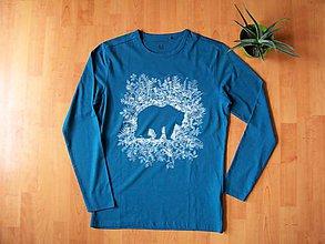 Tričká - Medveď,vlk a mini vlk : Na želanie - 7127012_