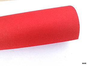 Textil - filc, plsť metráž 1 mm červený - 7133274_
