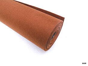 Textil - filc, plsť metráž hnedý - 7133421_