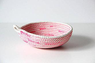 Košíky - Košík růžový - 7132031_