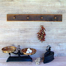 Nábytok - Vešiak - staré drevo - 7130367_