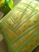 Úžitkový textil - Slnečný vankúš. . . - 6552841_