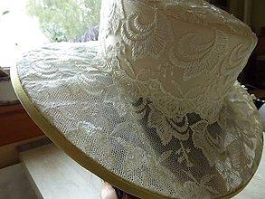 Čiapky - Kolekcia pre svadobnú maminku - 7132273_