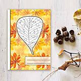 - Zápisníky Farebná jeseň ((listy) - list 7) - 7133387_