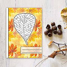 Papiernictvo - Zápisníky Farebná jeseň ((listy) - list 7) - 7133387_