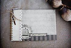 Papiernictvo - Our story - fotoalbum alebo kniha hostí - 7134862_