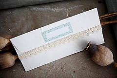 Papiernictvo - Obálka na peniaze - ornament - 7134975_