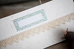 Papiernictvo - Obálka na peniaze - ornament - 7134976_