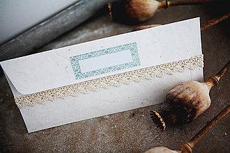 Papiernictvo - Obálka na peniaze - ornament - 7134978_