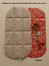 Textil - Podložka do hlbokého kočiarika NA MIERU ušijem - 7136683_
