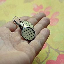 Náušnice - Dotted n.1 - mechanické náušnice - 7135465_