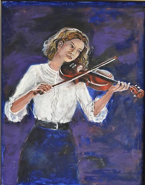 Melódia huslí