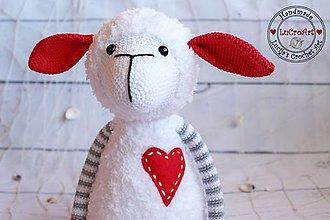 Hračky - Námorníčka ovečka v sivom - 7134940_