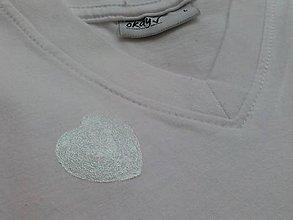 Tričká - Pastel Hearts - dámske tričko, v. L skladom - 7135122_