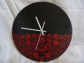 Hodiny - hodiny čierne 43 - 7134634_