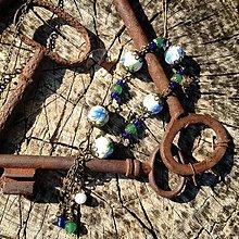 Sady šperkov - Vintage náramok s aventurínom - 7139397_