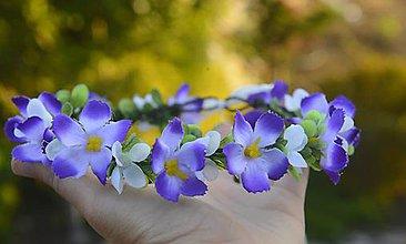 Ozdoby do vlasov - AKCIA venček by michelle flowers - 7138363_