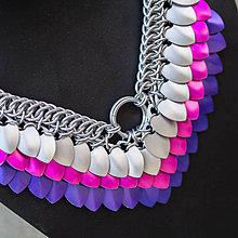 Náhrdelníky - Argetlam něžný - náhrdelník - 7139108_