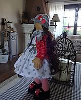 Bábiky - V červených pančuškách - 7137908_