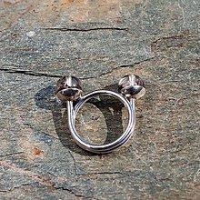 Prstene - Strieborný prsteň - Na stopke04 - 7140644_