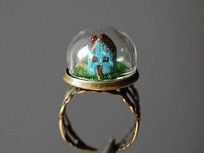 Prstene - Domček za sklom - 7139876_