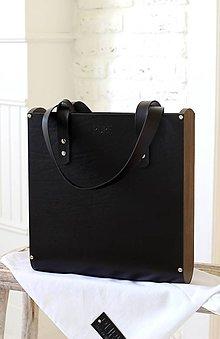 Veľké tašky - Taška SHOPPER BAG TALL BLACK - 7138702_