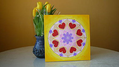 Obrazy - Mandala...o Láske... - 7138412_
