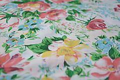 Sukne - Kvetinová sukňa - 7137255_