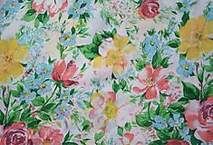 Sukne - Kvetinová sukňa - 7137256_