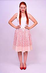 Sukne - Kvetinková sukňa - 7137338_