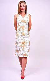 Šaty - Kvetinové šaty - 7139453_