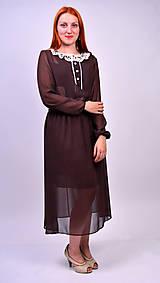 Šaty - Bodkované vintage šaty - 7139463_