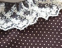 Šaty - Bodkované vintage šaty - 7139466_