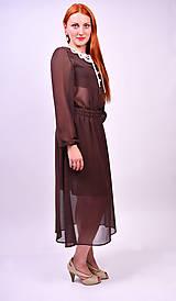 Šaty - Bodkované vintage šaty - 7139467_