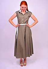 Šaty - Bodkované retro šaty - 7139478_