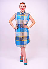 Šaty - Košeľové šaty - 7139489_