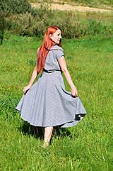 Šaty - Kárované šaty - 7139520_