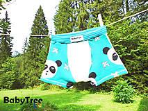 """Detské oblečenie - Chlapčenské Boxerky """"Panda"""" - 7140172_"""