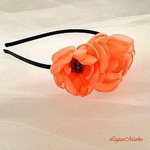 Ozdoby do vlasov - Pomarančové leto vo vlasoch - 7138826_