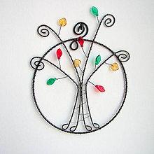 Dekorácie - jesenný stromček - 7141617_