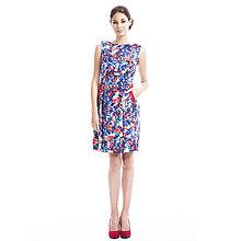 Šaty - f/w 2016 - Květované šaty s krajkou - 7142532_