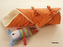 Textil - Zavinovačka pre bábätka/ miminká 100% Merino Top - 7141477_